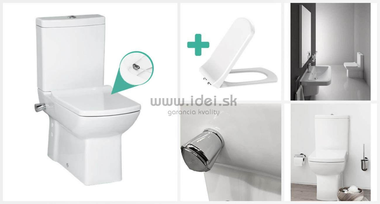 Stupendous Creavit Lara Wc Bidet 2V1 So Sedatkom A Ventilom Dailytribune Chair Design For Home Dailytribuneorg