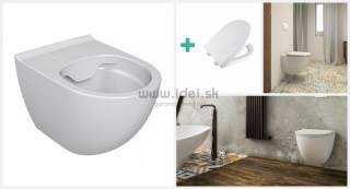 Vilan Rimless WC závesné so sedátkom Softclose